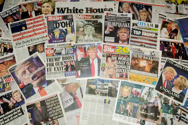 Trump-newspapers