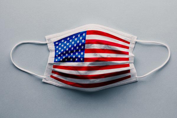 USA facemask